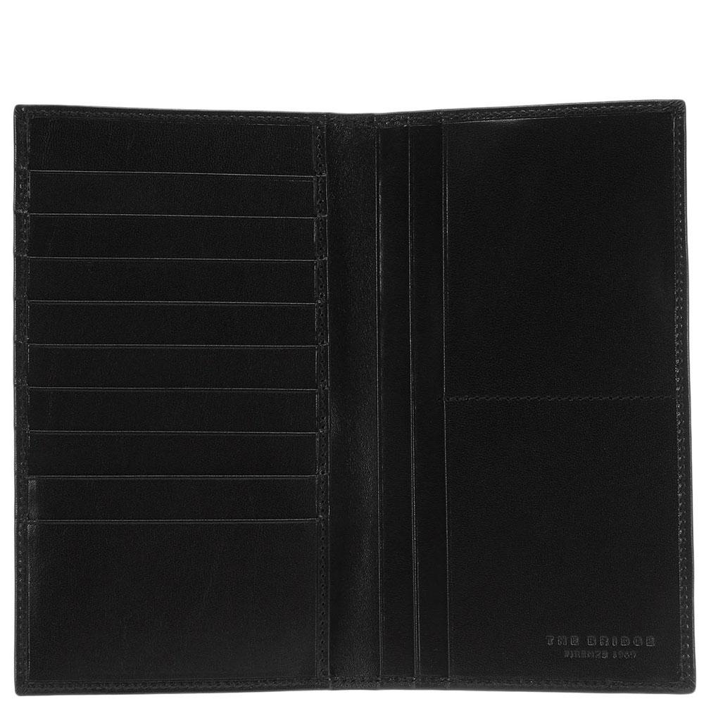 Бумажник The Bridge Story Uomo черного цвета