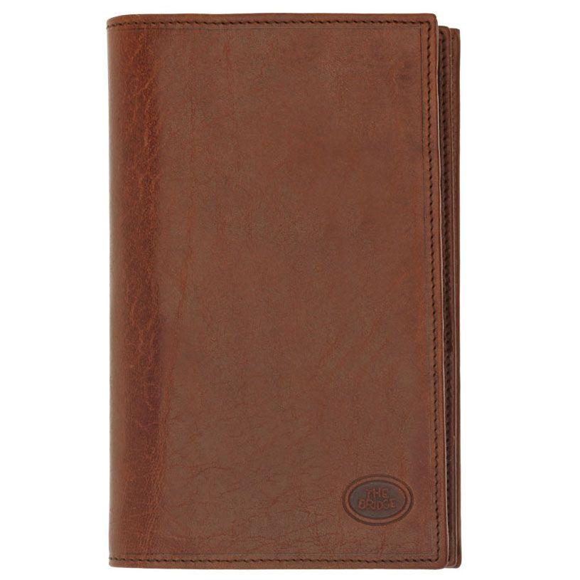 Бумажник The Bridge Story Uomo из кожа коричневого цвета