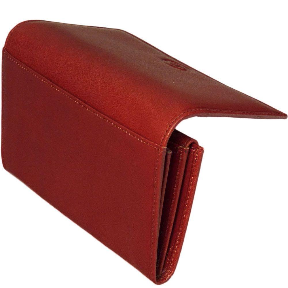 Женское портмоне The Bridge Story Donna красного цвета