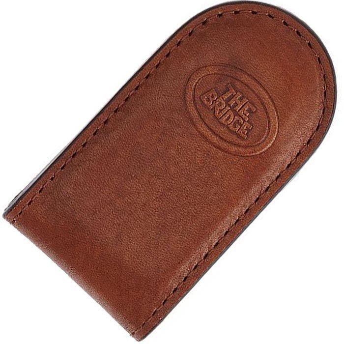 Зажим для банкнот The Bridge Story Uomo коричневый