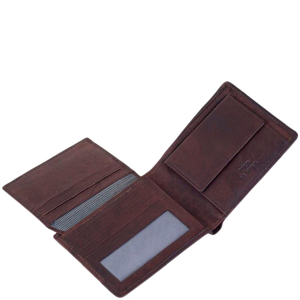 Портмоне Spikes&Sparrow темно-коричневого цвета