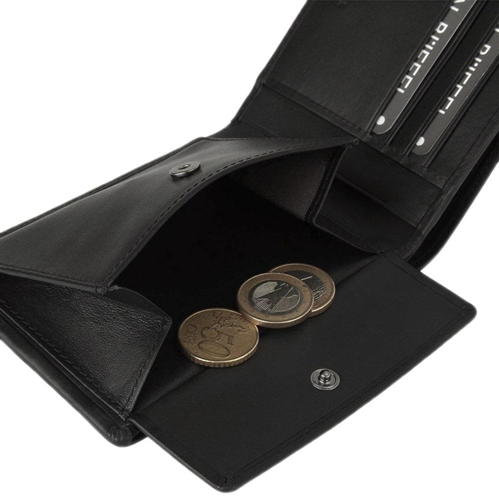 Черное портмоне Braun Bueffel Luzern прямоугольной формы