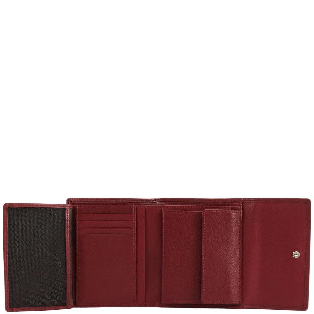 Портмоне Braun Bueffel Safari бордового цвета