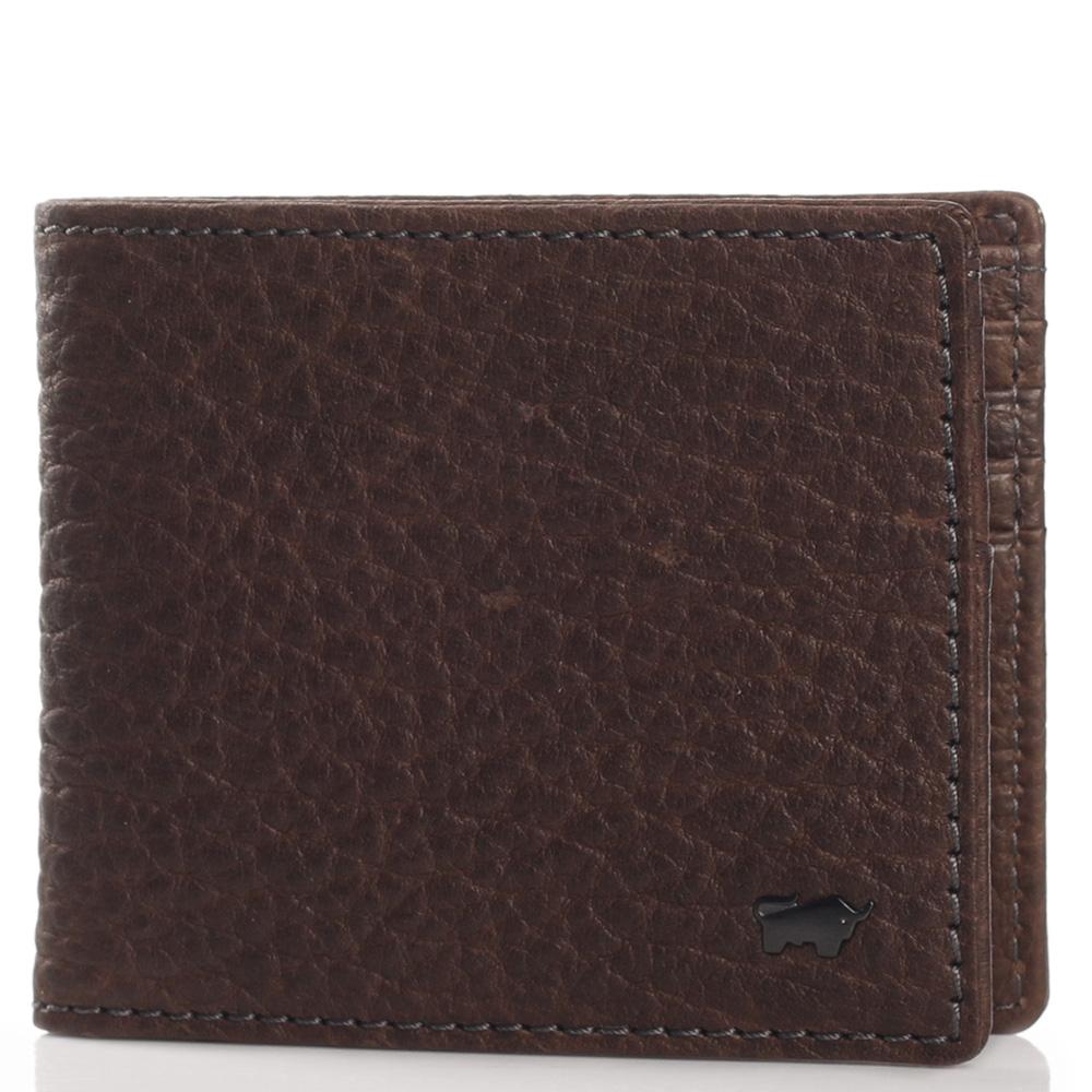 Темно-коричневое портмоне Braun Bueffel Yak из мягкой кожи