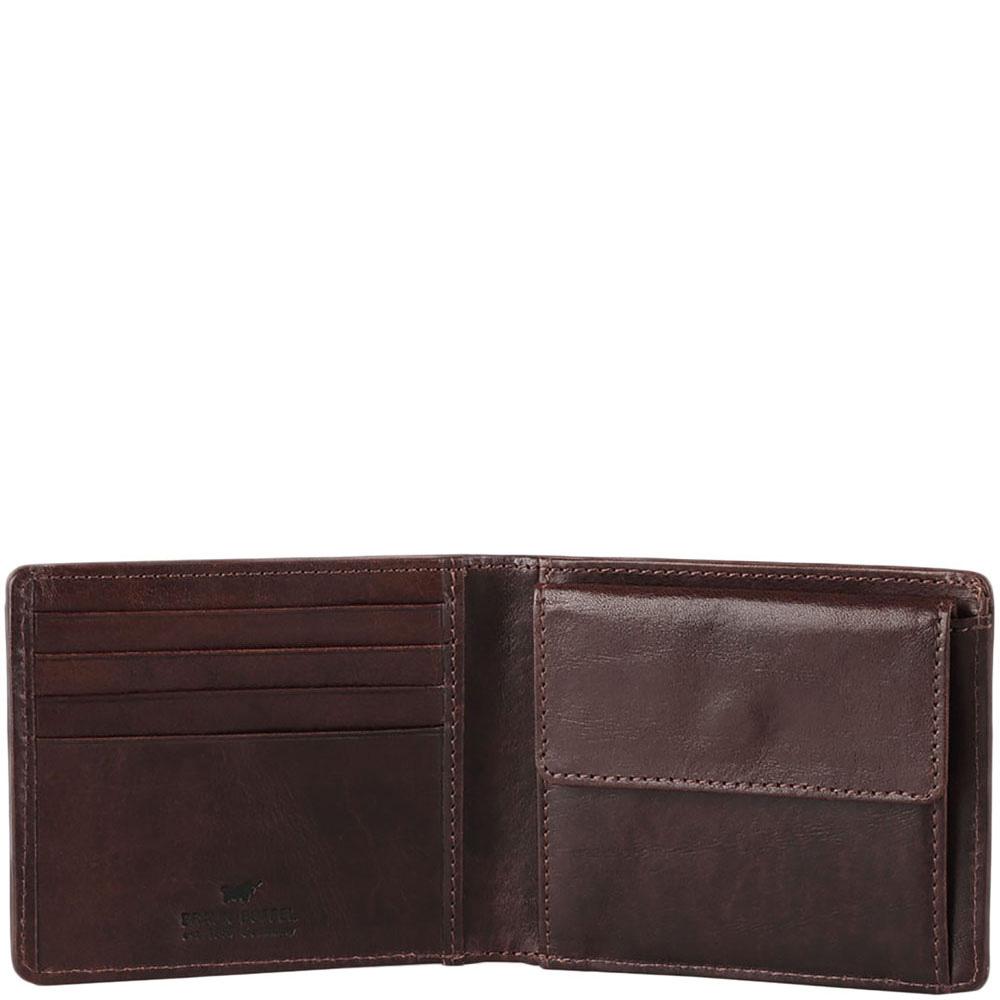 Коричневое портмоне Braun Bueffel Venice man с монетницей