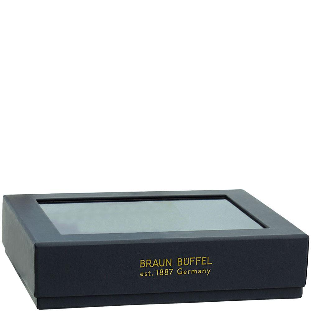 Черное портмоне Braun Bueffel Venice с карманом для монет
