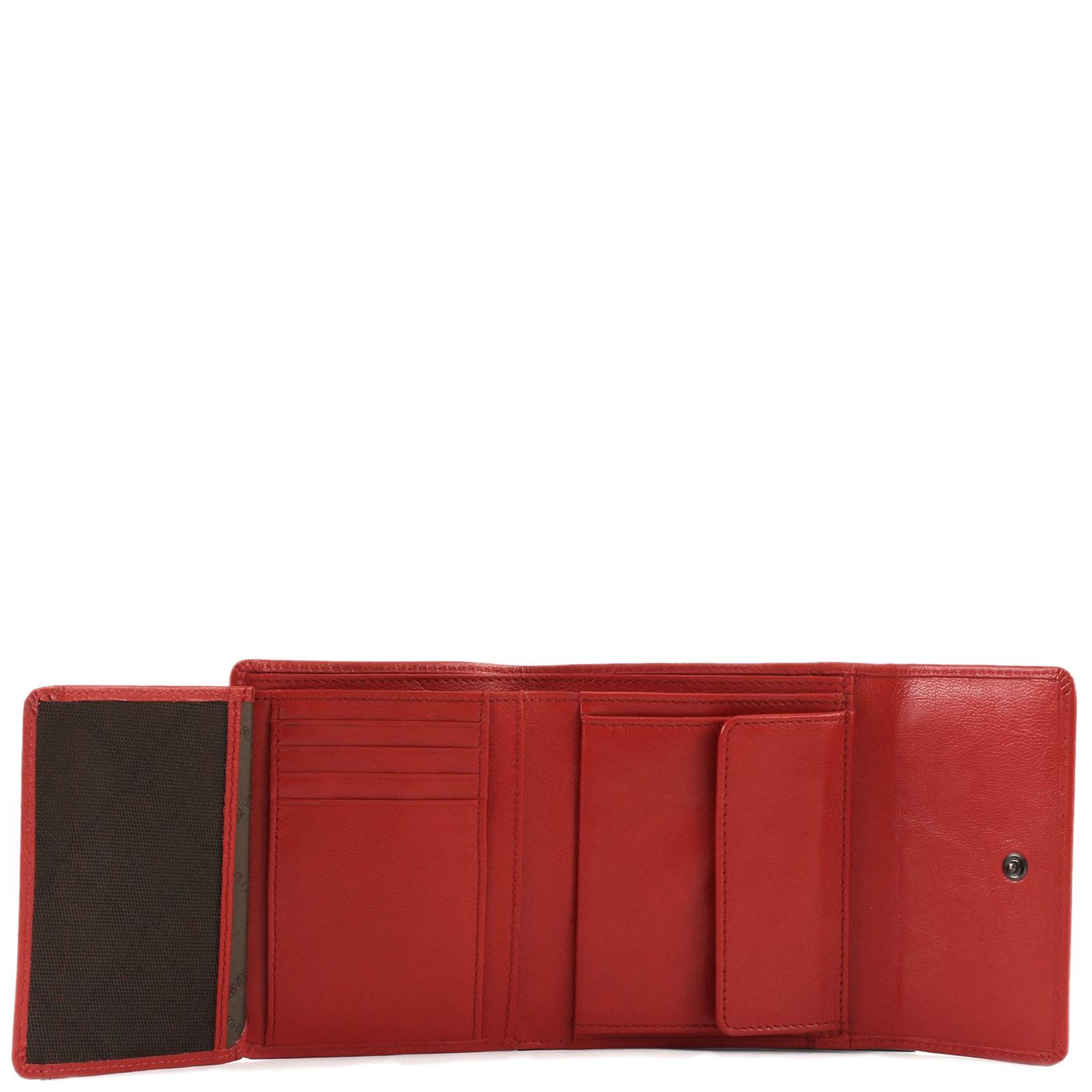 Портмоне Braun Bueffel Soave красного цвета
