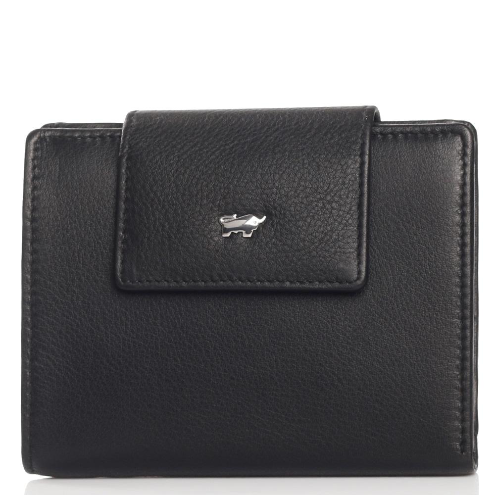 Складной кошелек Braun Bueffel Miami черного цвета