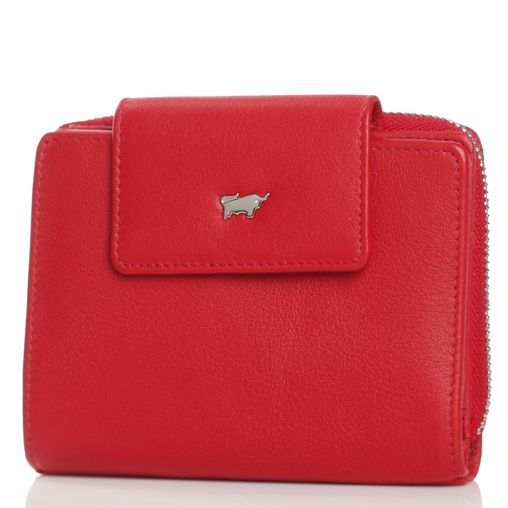 Кошелек Braun Bueffel Miami красного цвета