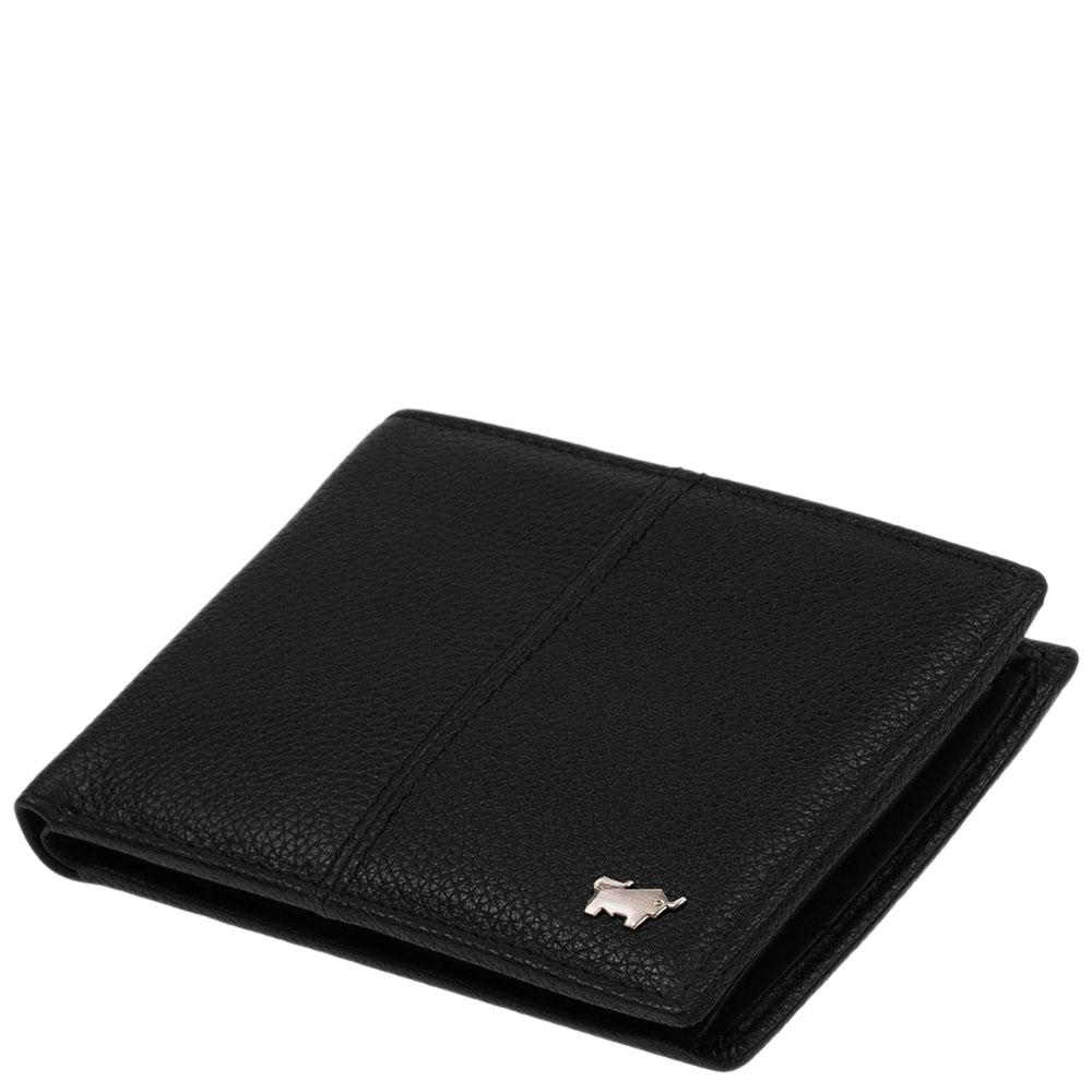 Мужское портмоне Braun Bueffel Varese черного цвета