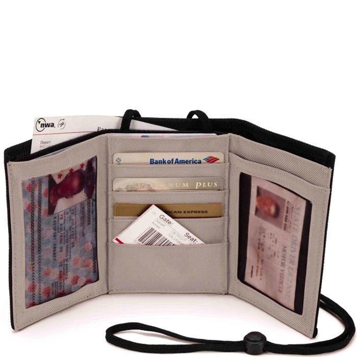 Дорожный кошелек Wenger WE6077GY серого цвета