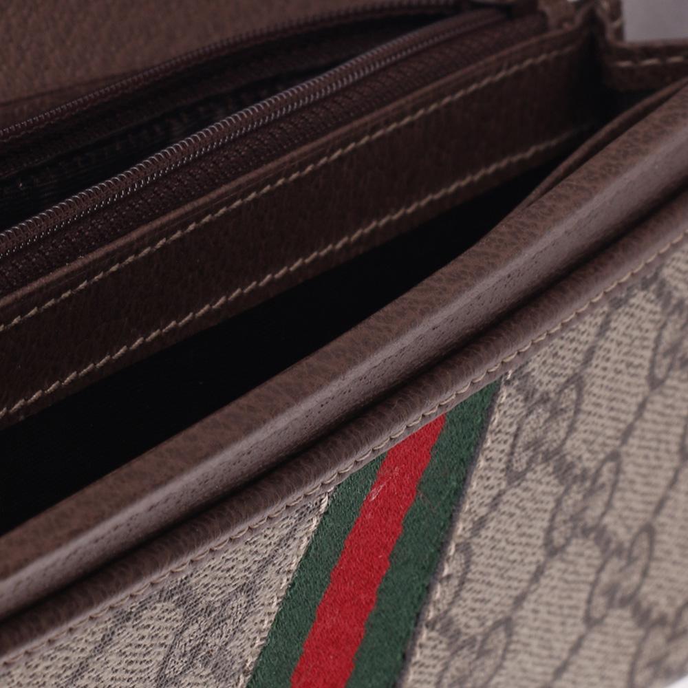 Кошелек Gucci Ophidia GG со съемной цепочкой