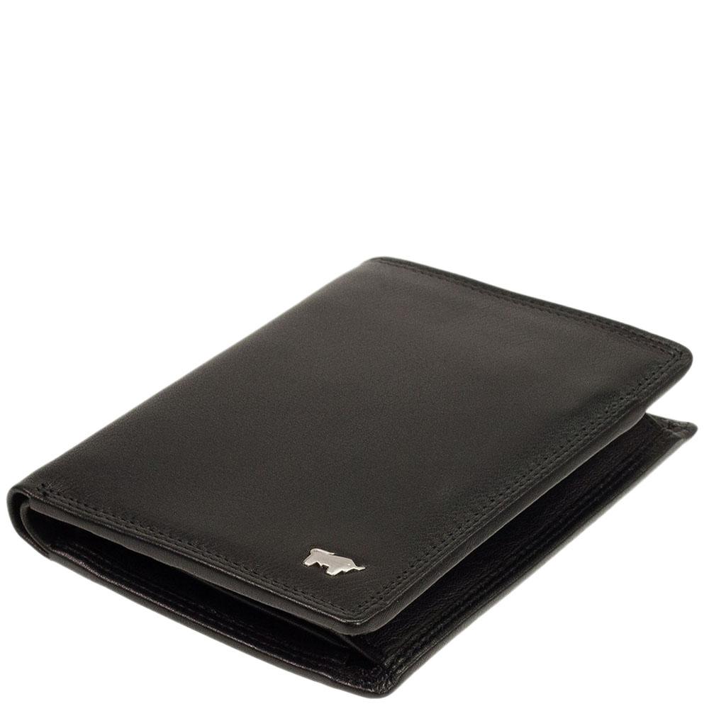 Вертикальное портмоне Braun Bueffel Golf Secure черного цвета
