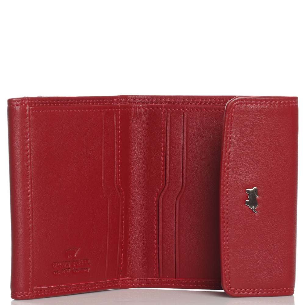 Маленький кошелек Braun Bueffel Golf 2.0 красного цвета