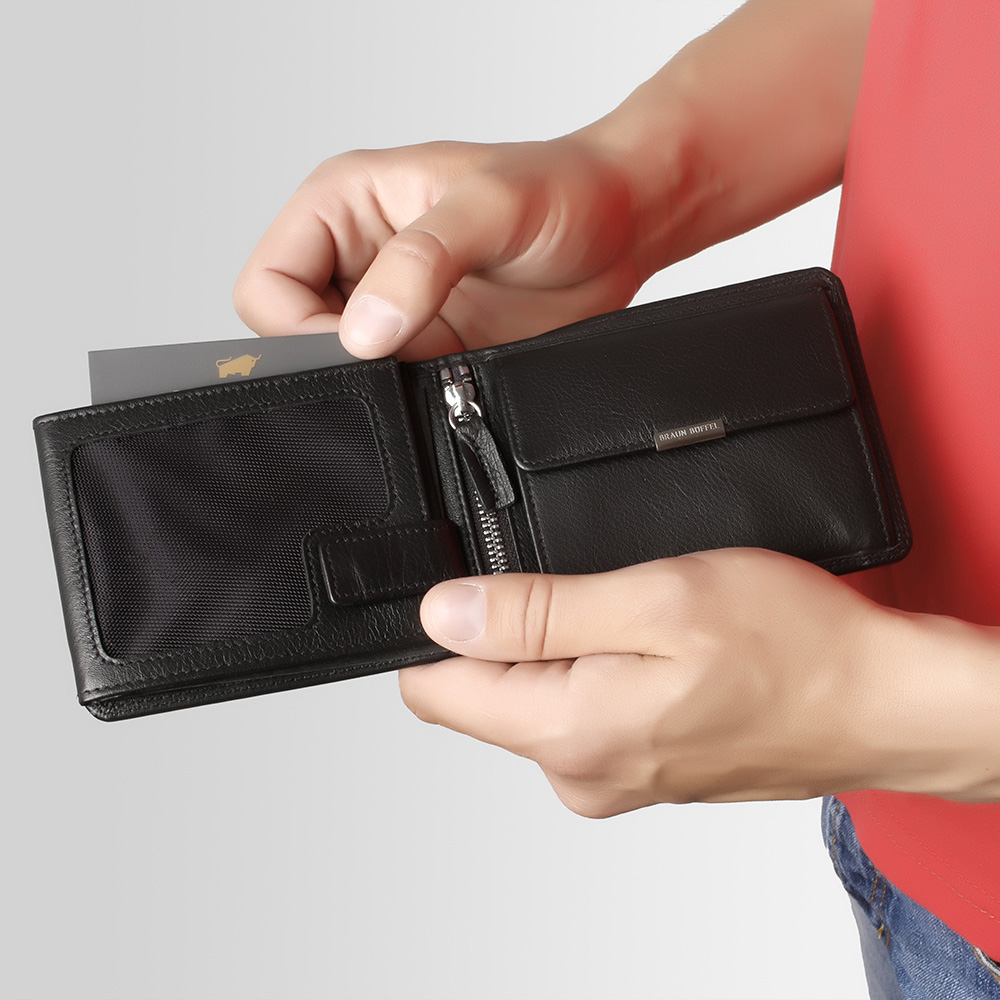 Портмоне Braun Bueffel Golf 2.0 с карманом для монет