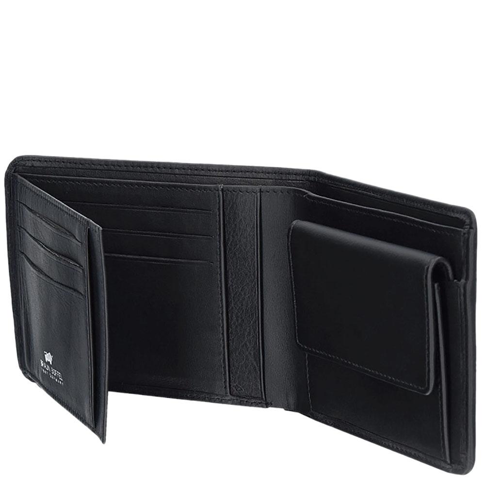 Портмоне черного цвета Braun Bueffel Golf