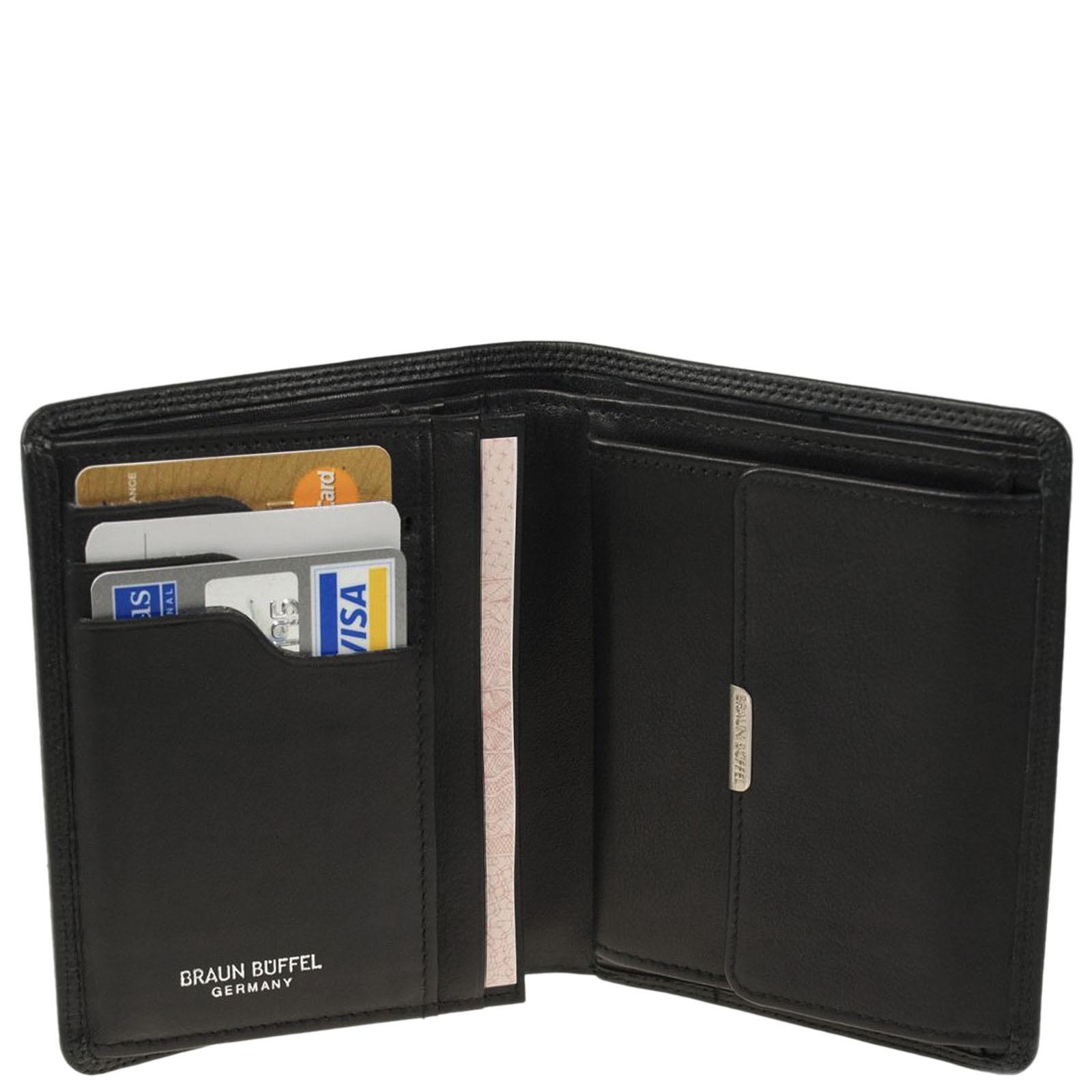 Вертикальное портмоне Braun Bueffel Golf с карманом для монет