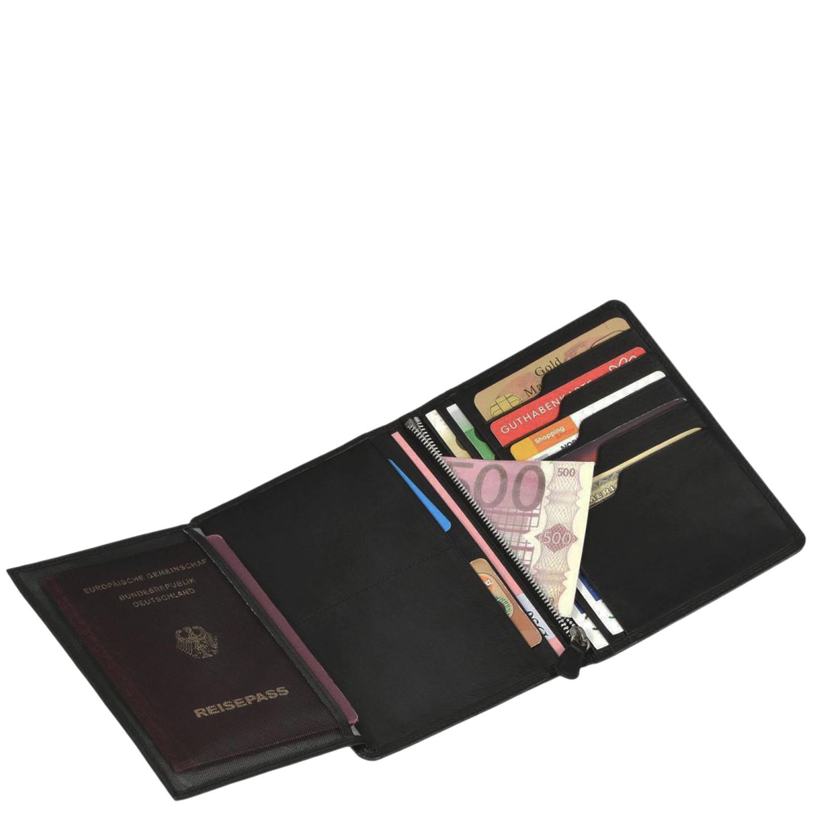 Портмоне Braun Bueffel Golf с отделением для паспорта