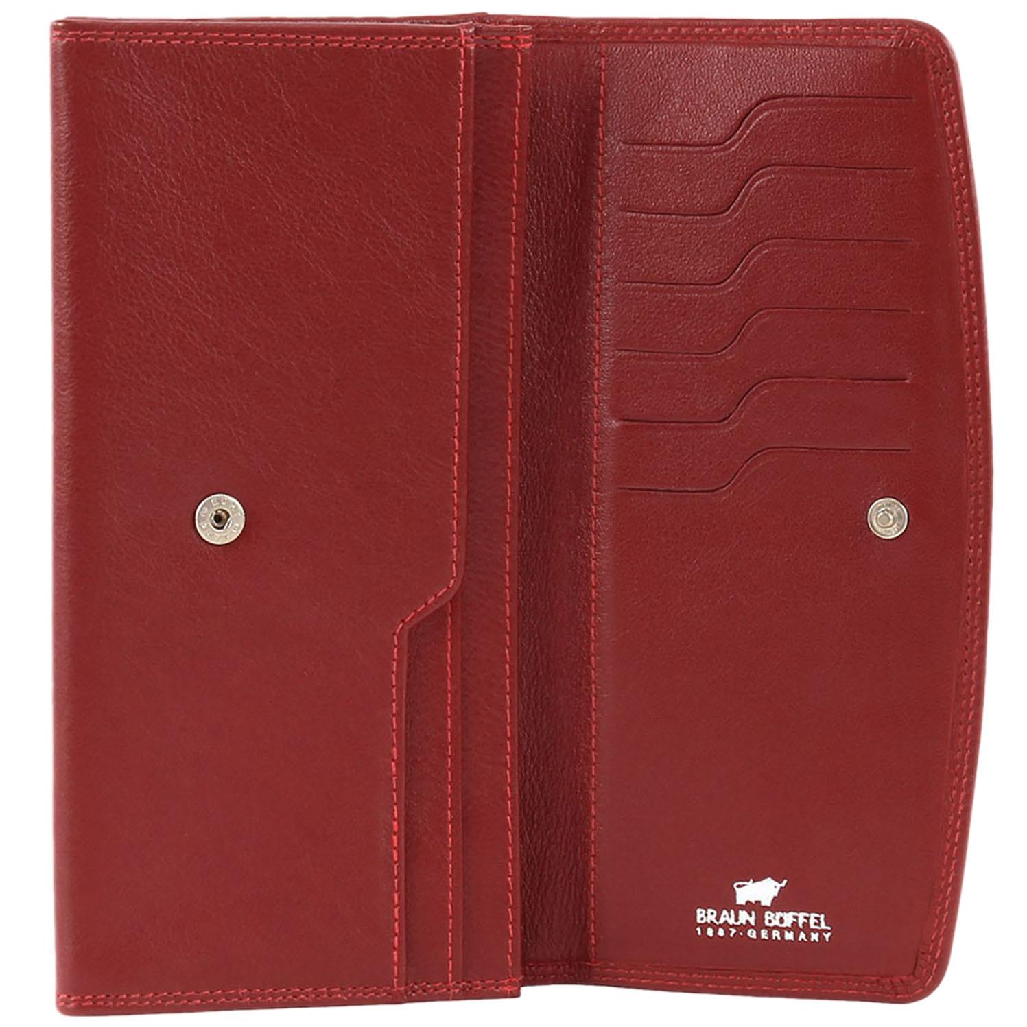 Портмоне женское Braun Bueffel Golf в красном цвете