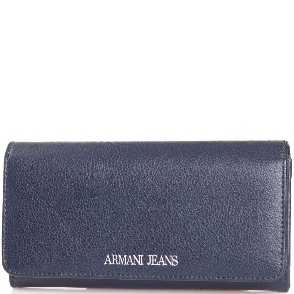 Кошелек Armani Jeans синего цвета