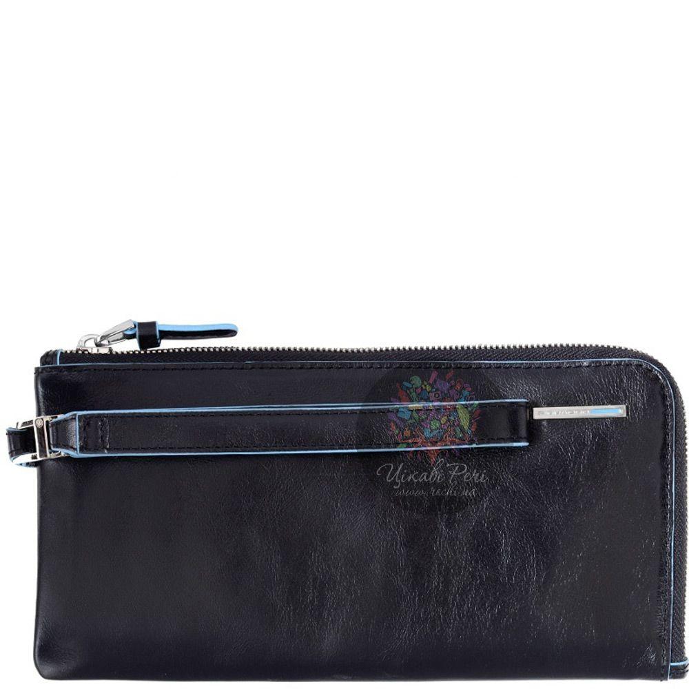 Мужское портмоне Piquadro Blue Square с отделением для кредитных карт