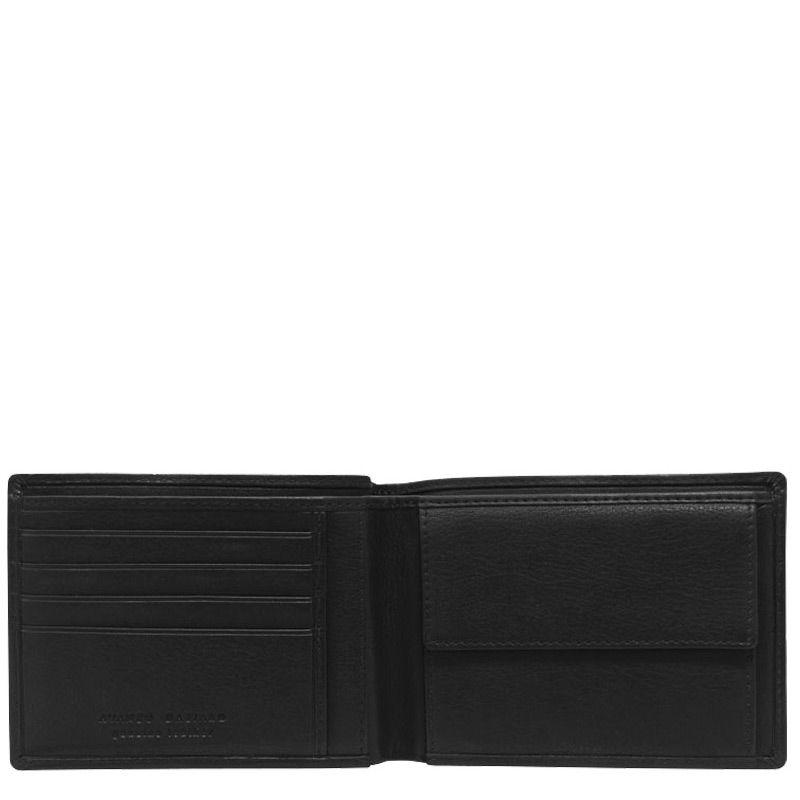 Портмоне Avanzo Daziaro Barcelona черное с обложкой для документов