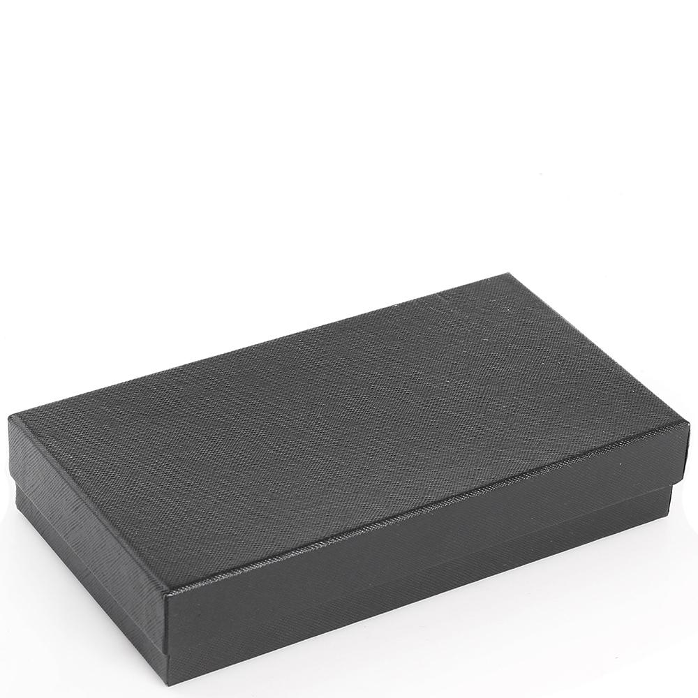 Портмоне Amo Accessori вертикальное в черном цвете