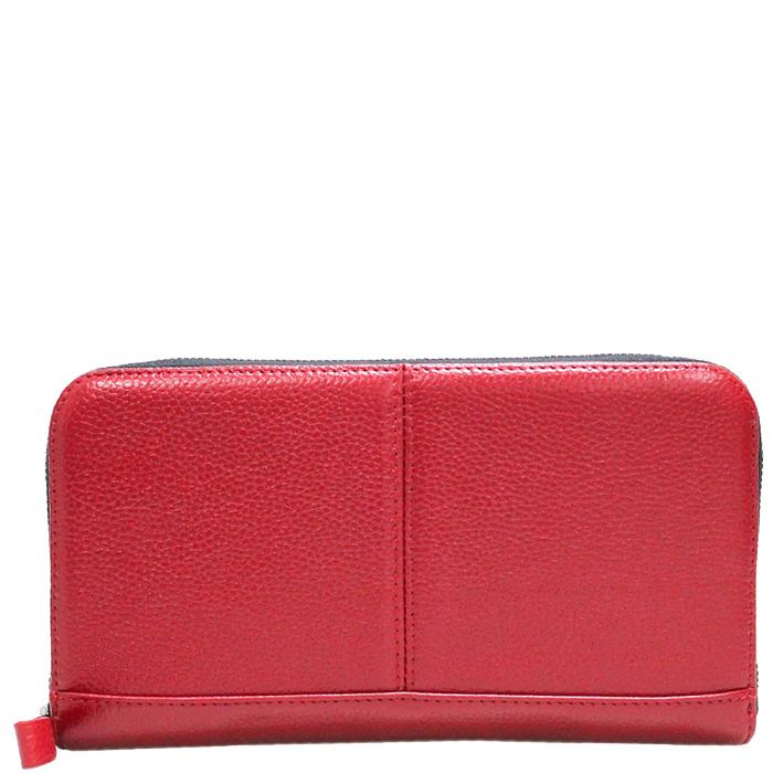 Кошелек Amo Accessori Comfort красного цвета
