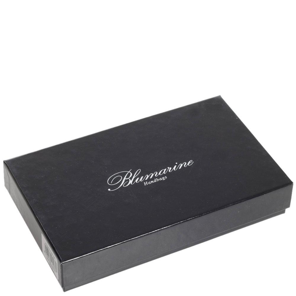 Портмоне Blumarine B Signature розовое с принтом