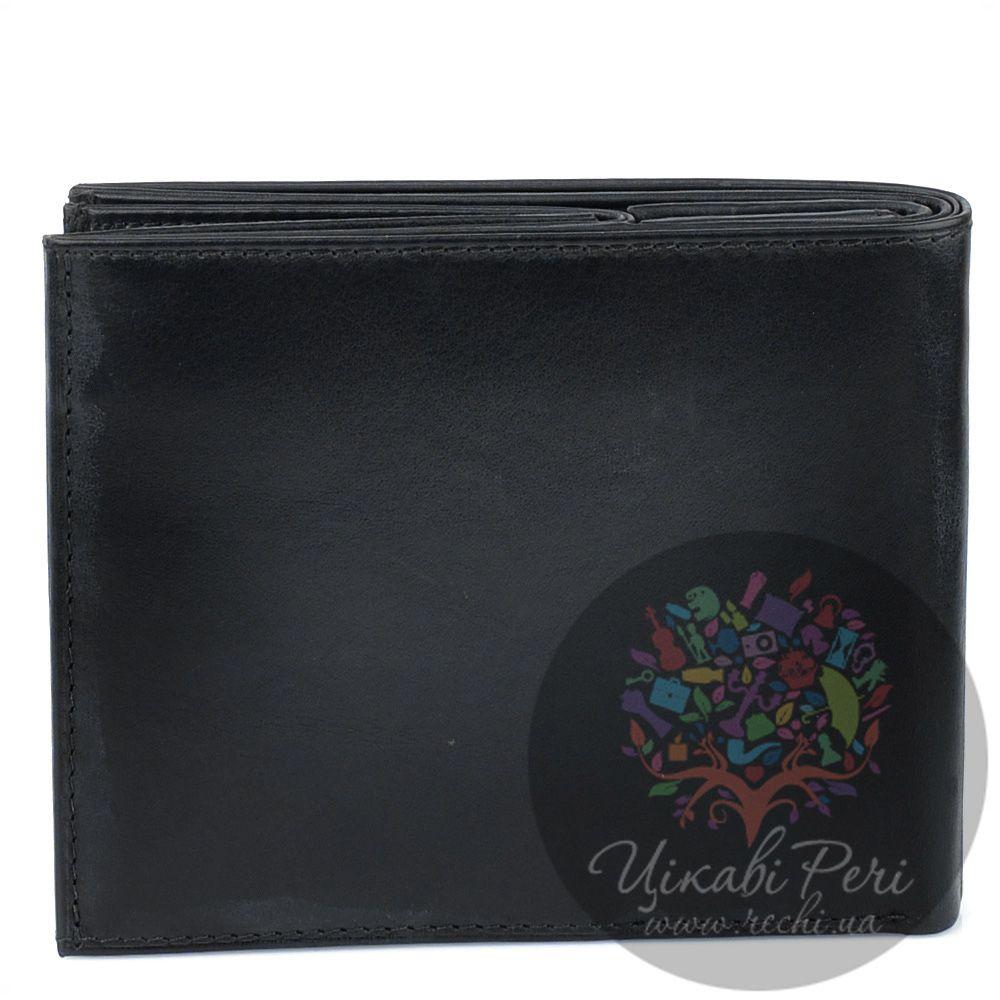 Портмоне Borsalino горизонтальное черное с необычной монетницей