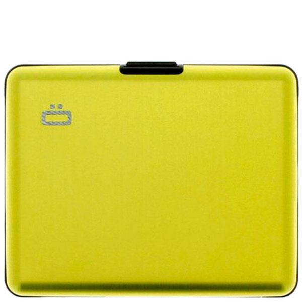 Бумажник Ogon Designs Big stockholm желтого цвета