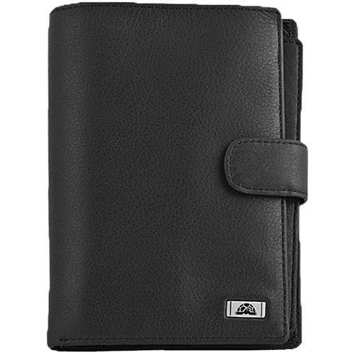 Большое вертикальное портмоне Tony Perotti Contatto на кнопке со съемной обложкой на паспорт