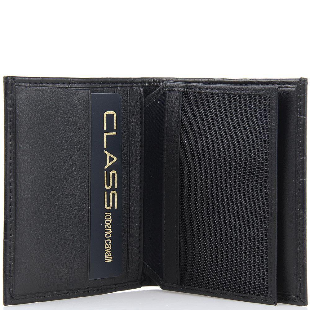 Портмоне Class Roberto Cavalli малое на 11 карт с отделением для документов