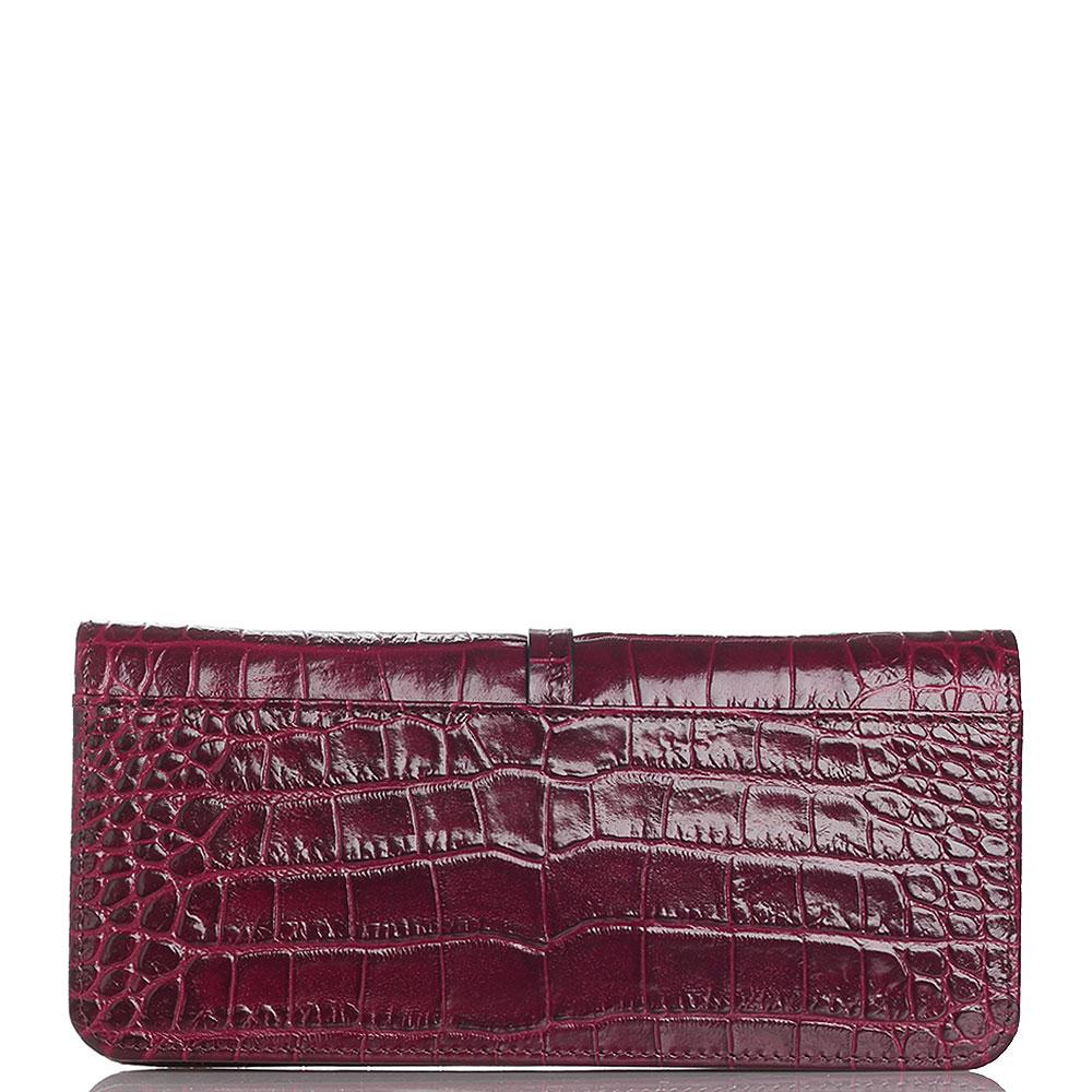 Красный кошелек Cavalli Class с декором-пантерой