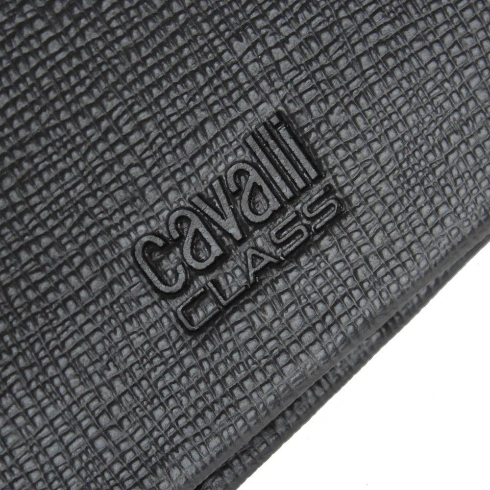 Портмоне мужское Cavalli Class Astoria тесно-коричневого цвета с сафьяновой отделкой кожи