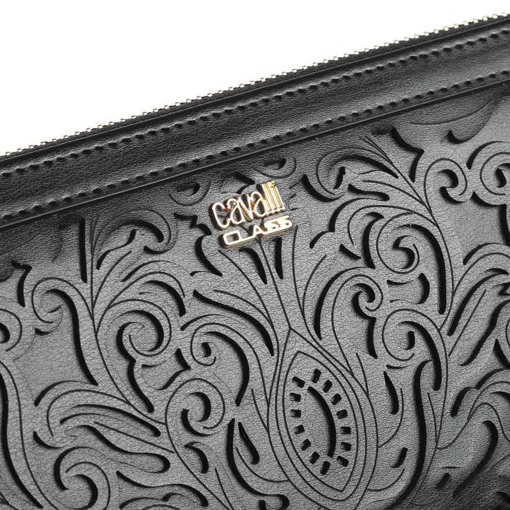 Женское портмоне Cavalli Class Venus с декоративным узором