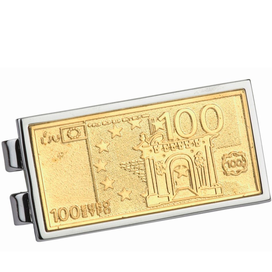 Зажим для денег Diplomat «Сто евро»