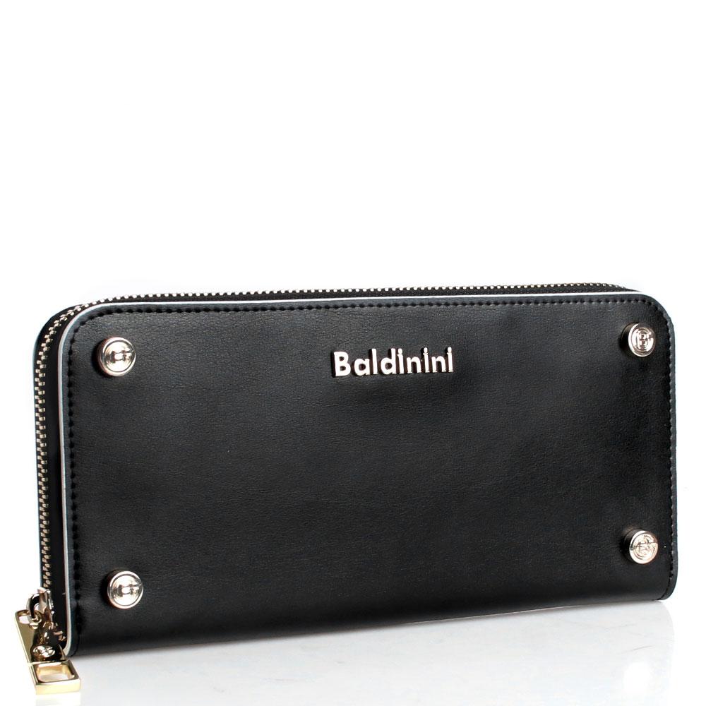 Черный кошелек Baldinini Alice с декором-заклепками