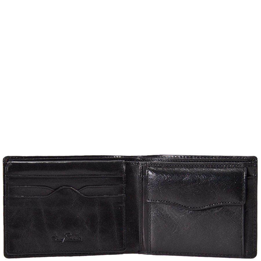 Черный портмоне Tony Perotti Italico из гладкой кожи в фирменной упаковке