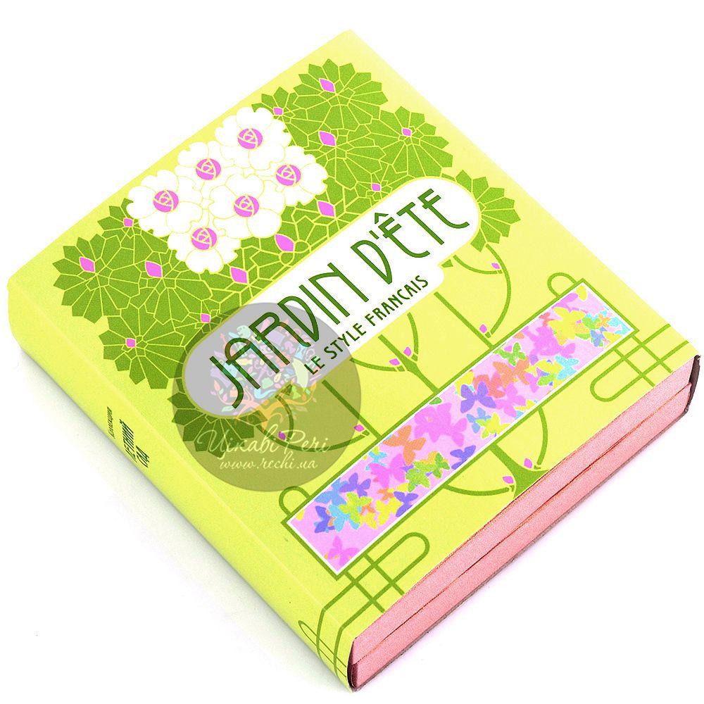 Визитница Jardin Dete Летний сад серебристая Цветы в вазе для своих визиток