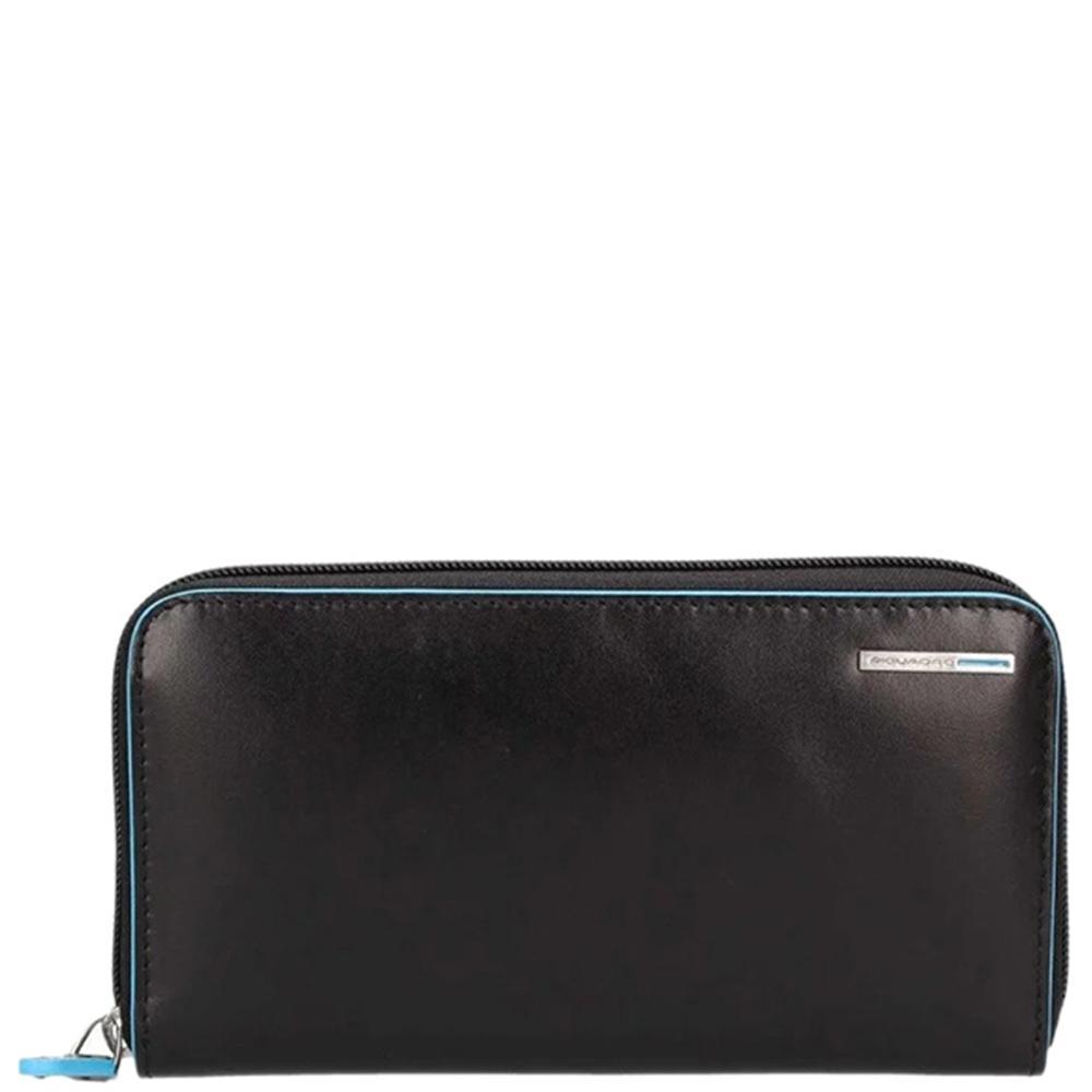 Черное портмоне Piquadro BL Square