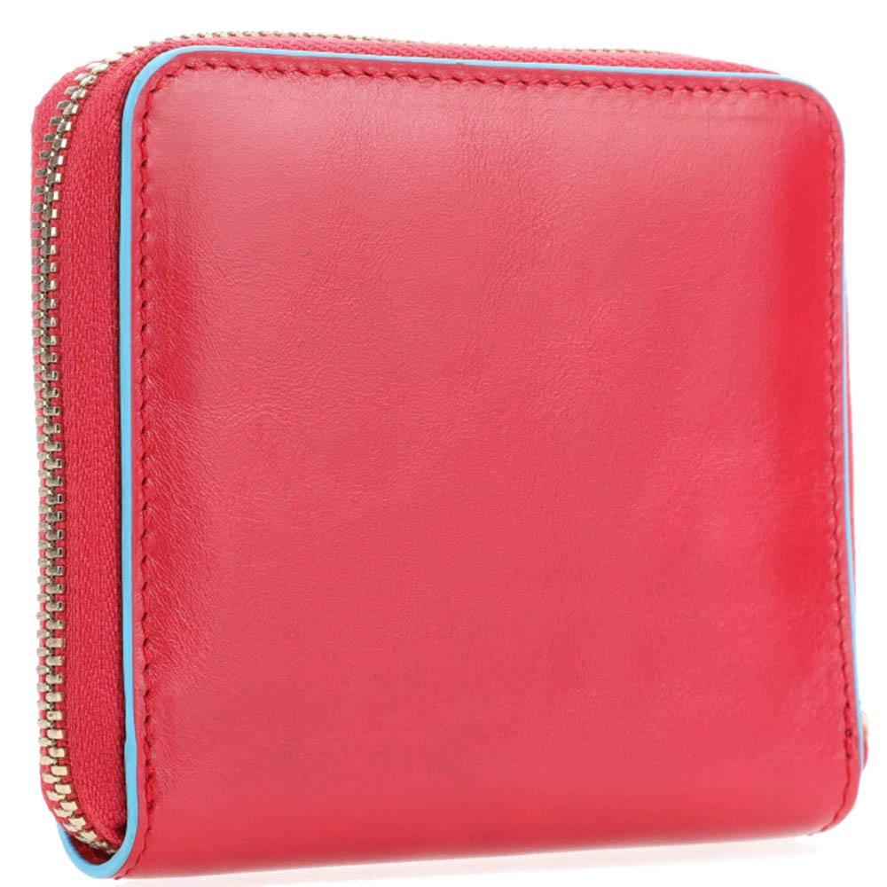 Красное портмоне Piquadro BL Square