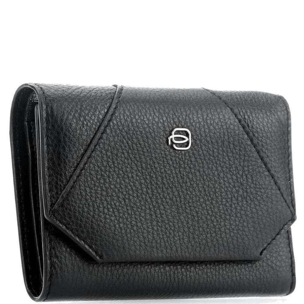 Черное портмоне Piquadro Muse