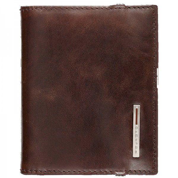 Кредитница Piquadro Vibe коричневая на 20 кредитных карт