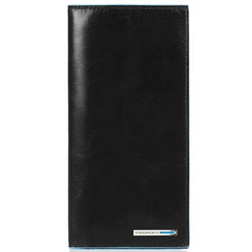 Вертикальное портмоне-тревеллер Piquadro Blue Square из кожи