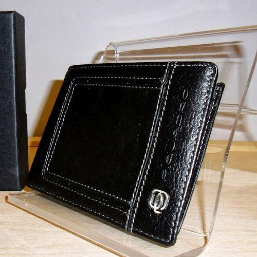 Портмоне Piquadro Vibe черное с отделением для документов