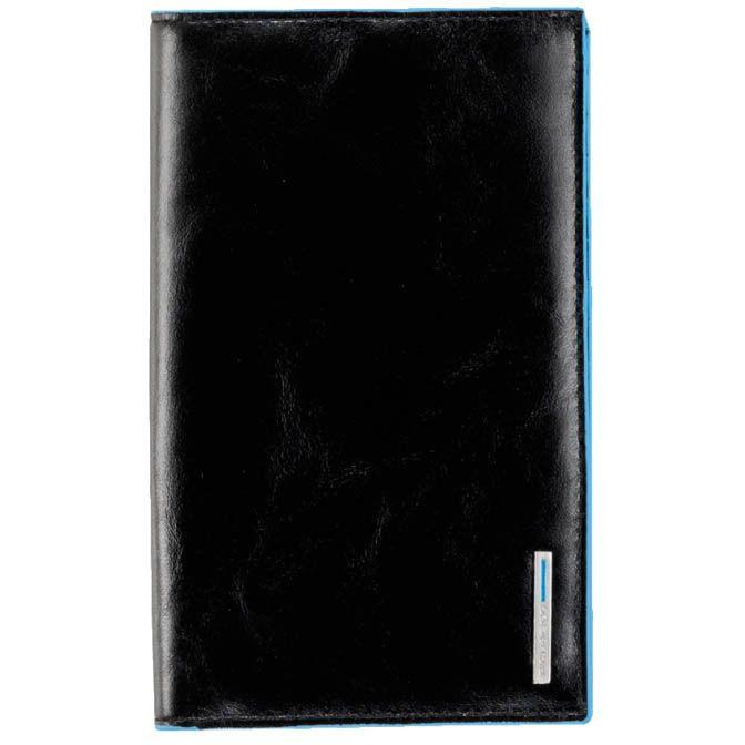 Дорожное портмоне Piquadro для 24 кредитных карт Blue square