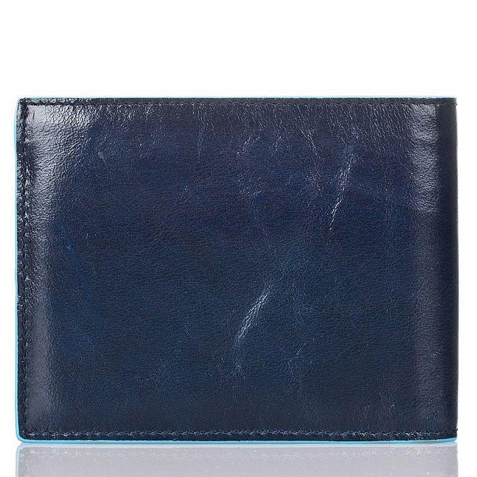 Портмоне Piquadro с отделением для монет Blue Square темно-синие