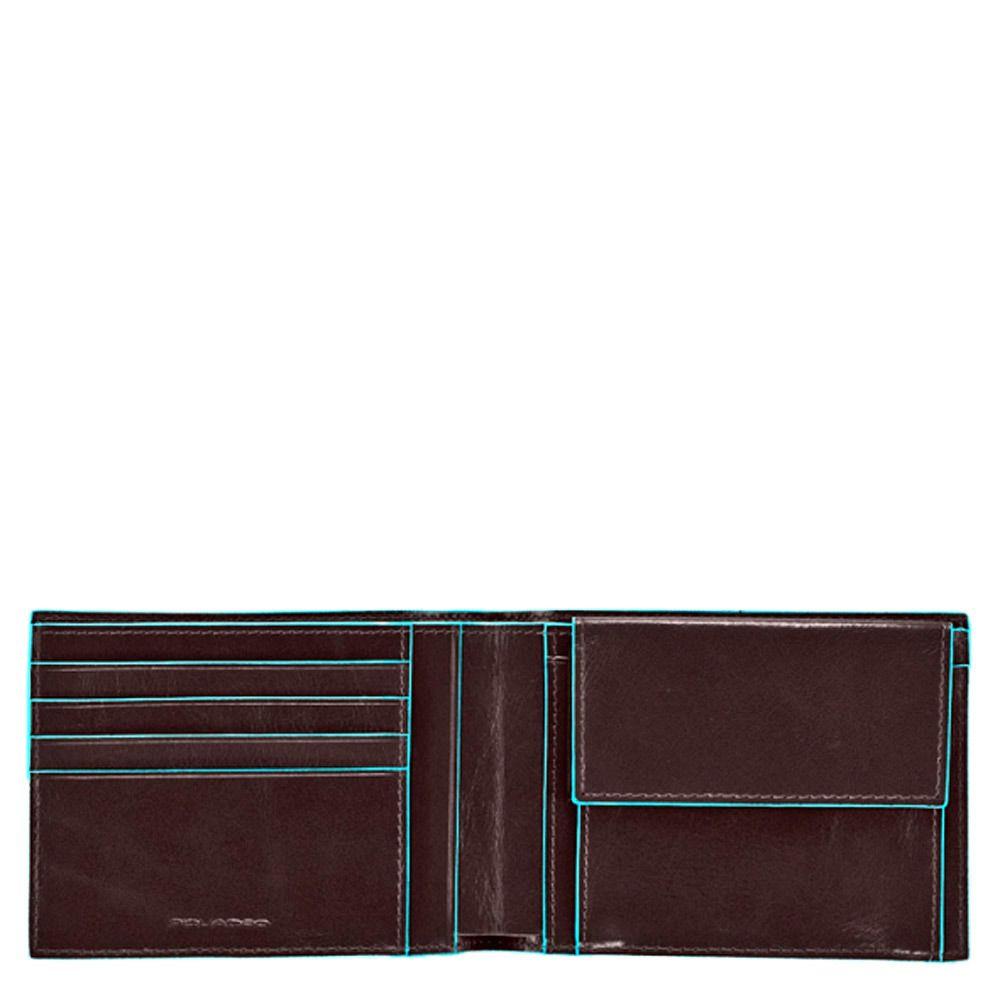 Портмоне Piquadro с отделением для монет Blue Square коричневое
