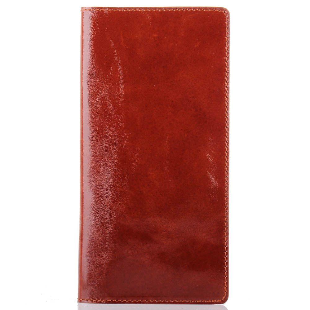 Кардхолдер Rechi.Ua коричневого цвета из глянцевой кожи